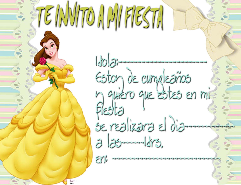 Modelo De Tarjeta De Invitación Infantil Imagui