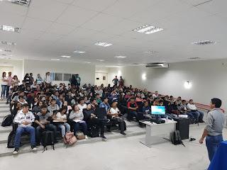 """Diretor da Netmark ministrou palestra sobre """"Empreendedorismo Digital"""" em Cuité"""