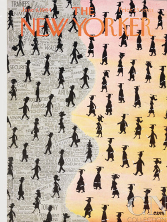 The New Yorker june 1964 cover