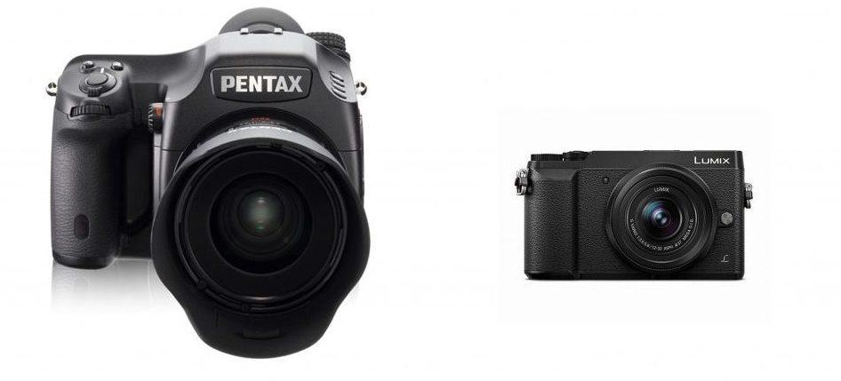 Сравнение Pentax 645D и Panasonic Lumix GX85
