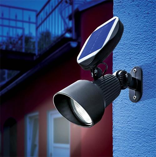 Eclairage et projecteur solaire puissant