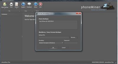 PhoneMiner Trial Version V2.4.7  For Windows Free Download