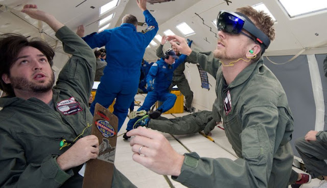 microsoft hololens augmented reality ISS astronauts