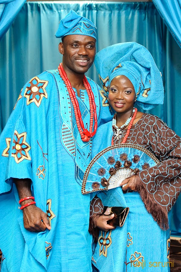 Check Out This Beautiful Nigerian Bride & Her Groom On