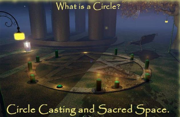 Crone Cronicles: Circle casting by Scott Cunningham