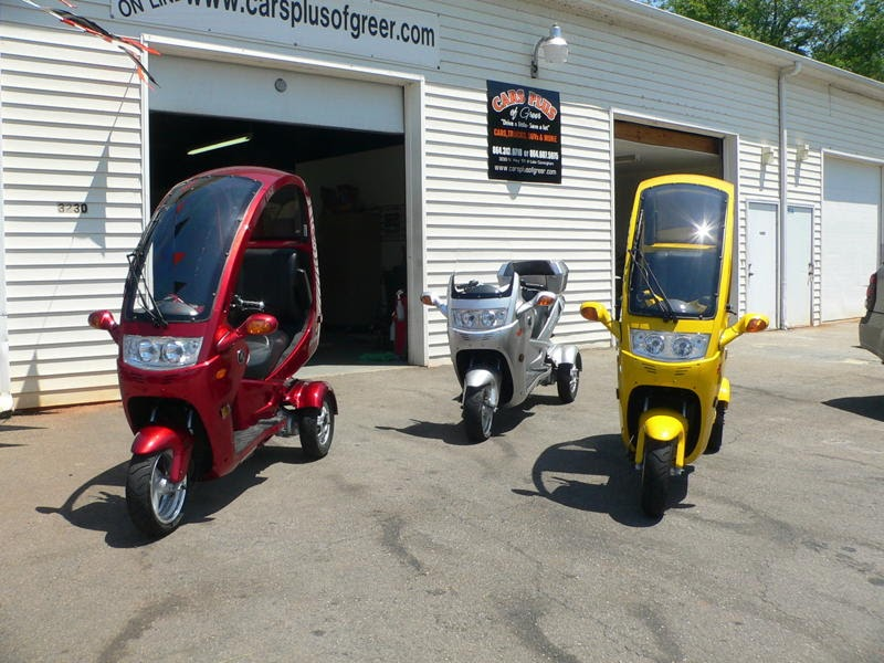 Honda Of Greer >> AUTO-MOTO 3 Wheel Scooters ~ Cars Plus of Greer