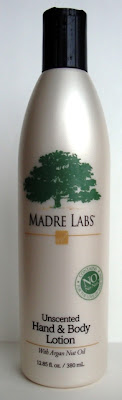 Madre Labs Unscented Hand&Body Lotion