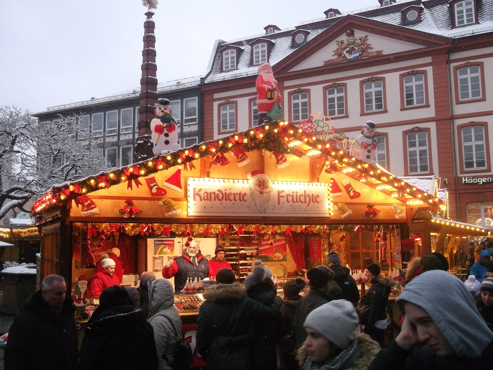 egyetlen karácsonyi frankfurt