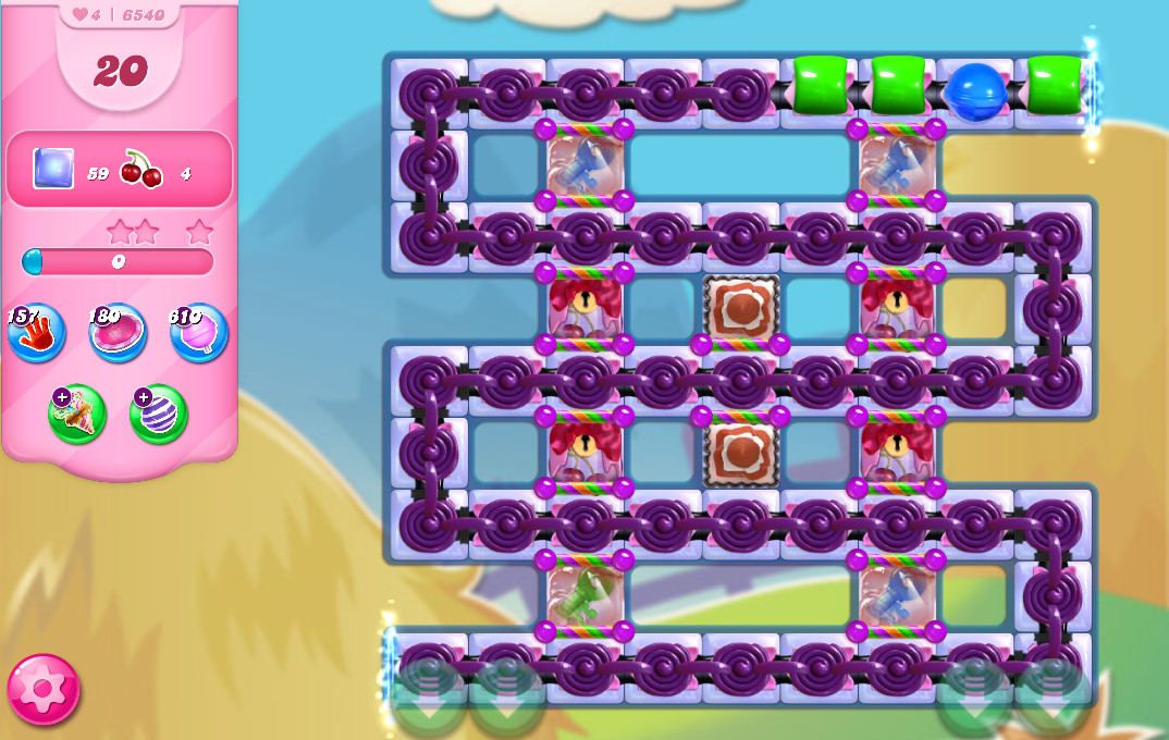 Candy Crush Saga level 6540