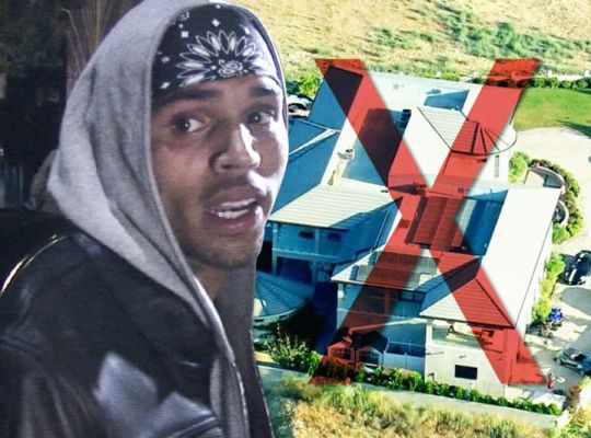 Chris Brown bans his friends from bringing random women to his home