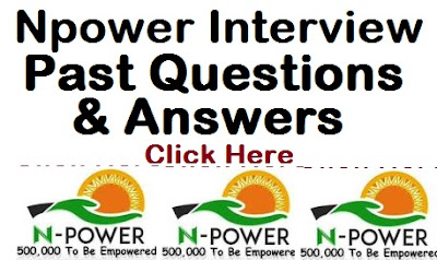Npower Interview Questions & Answers 2017/2018 (Past Npower Online Tests Login)