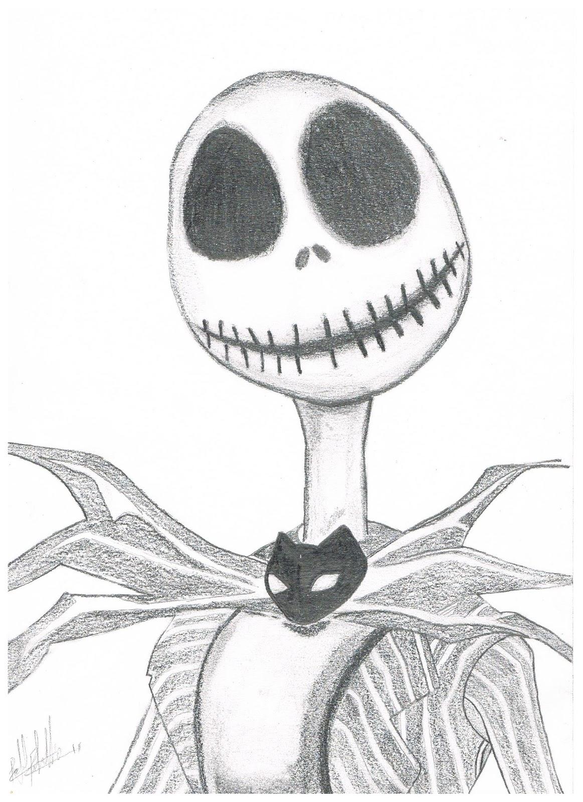jack skellington drawings - HD1163×1600