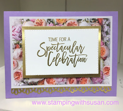 Stampin' Up!, Birthday Cheer, Petal Promenade, 2019 Occasions Catalog,www.stampingwithsusan.com