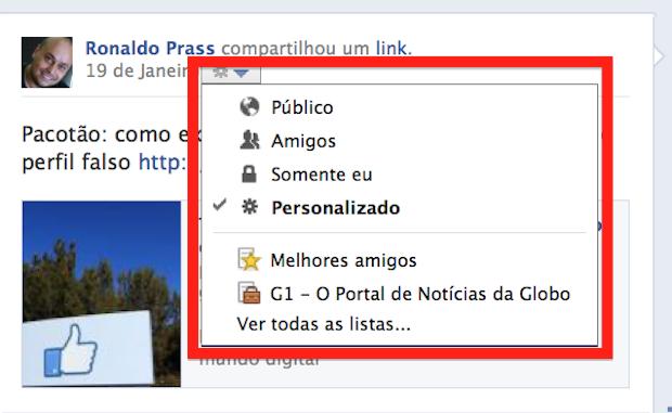 Blog Dag Vulpi: Configurando Facebook - Linha do Tempo ...