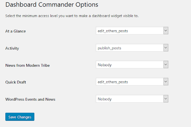f you have a WordPress website installed How to Disable or Hide WordPress Dashboard Widgets?