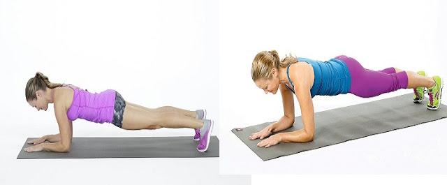 Plank Hareketi (duruşu) İle Kaslarınızı Çalıştırın