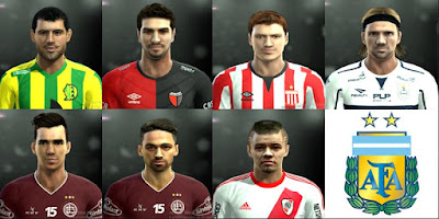 Facepack Liga Argentina By Pes 2013