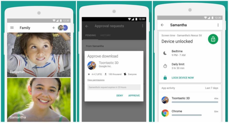 Google Family Link Para Android