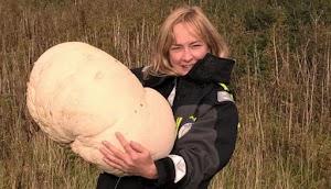 Perempuan ini Menemukan Jamur Raksasa
