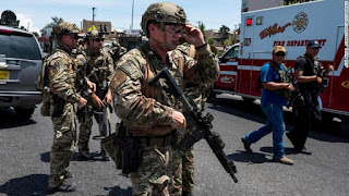 Multiple people have been killed in a shooting at Shopping Centerin Texas .