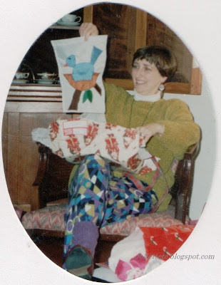 Wendy Slade Mathias Christmas 1992