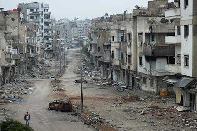 Resultado de imagen de Fotos de ciudades de Irak devastadas