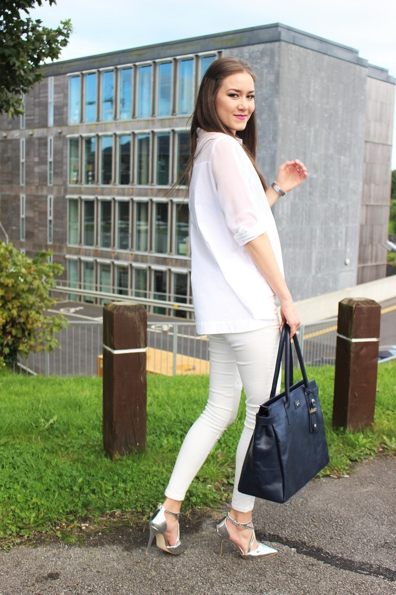 fall, autumn outfit, white in fall, ootd, fblogger, newblogger, fashion, style, lookbook