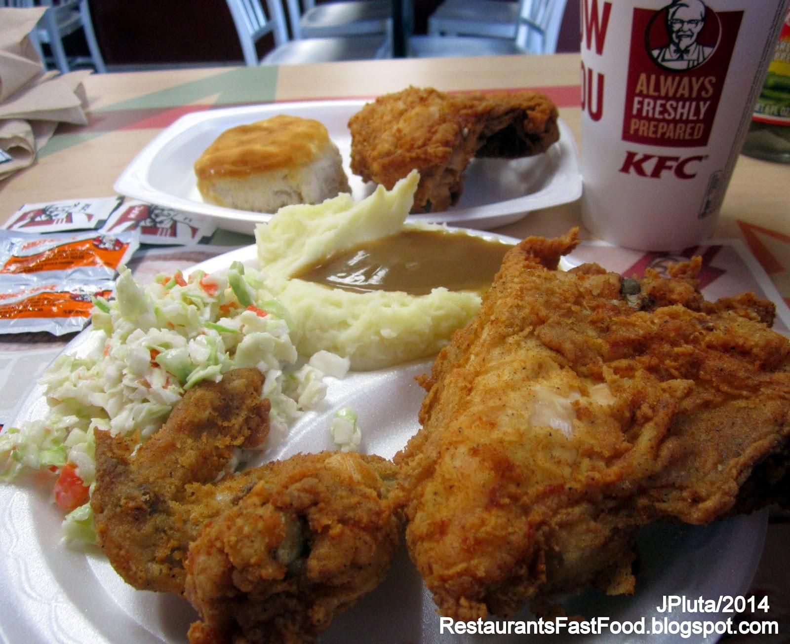 Kentucky Fried Chicken Meal: HOLLYWOOD FLORIDA Broward Dr.Hospital Casino Restaurant