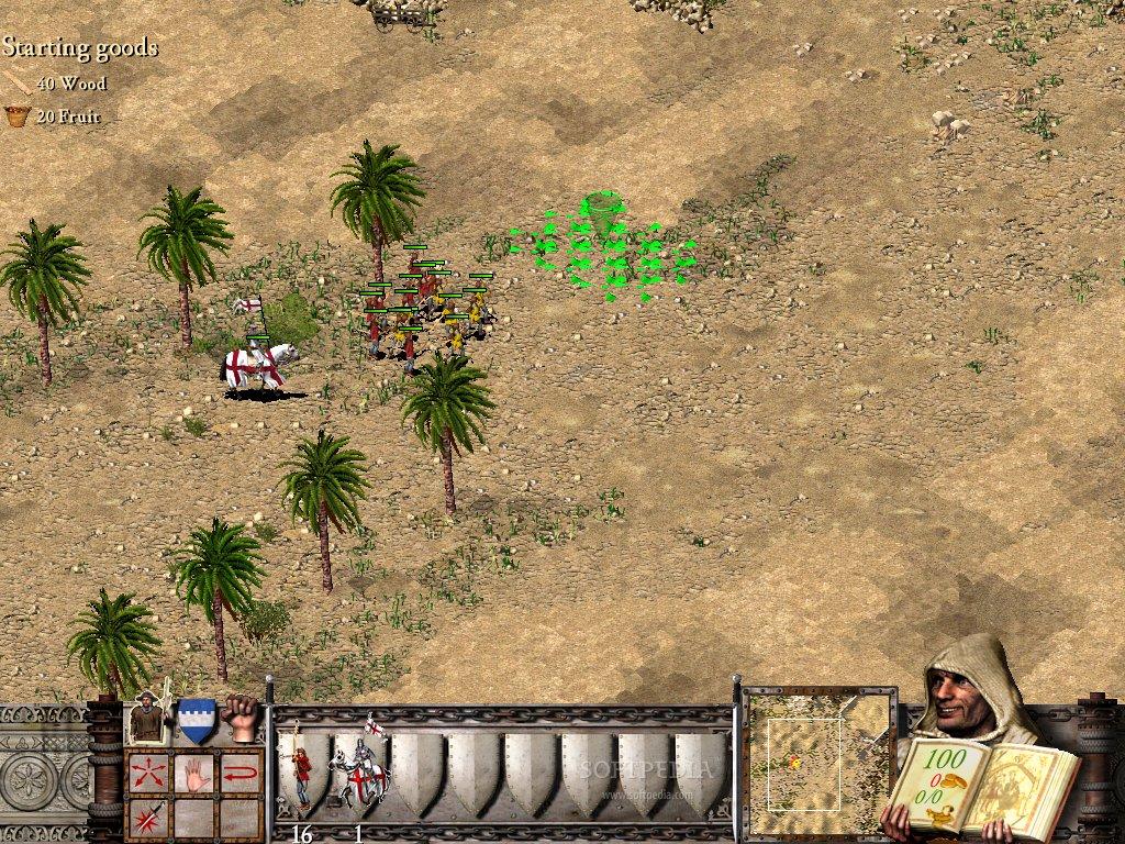 تحميل لعبة stronghold crusader extreme من ماى ايجى