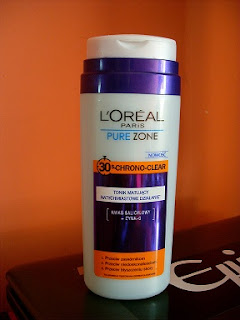 tonik L'Oreal Pure Zone 30 s. CHRONO CLEAR