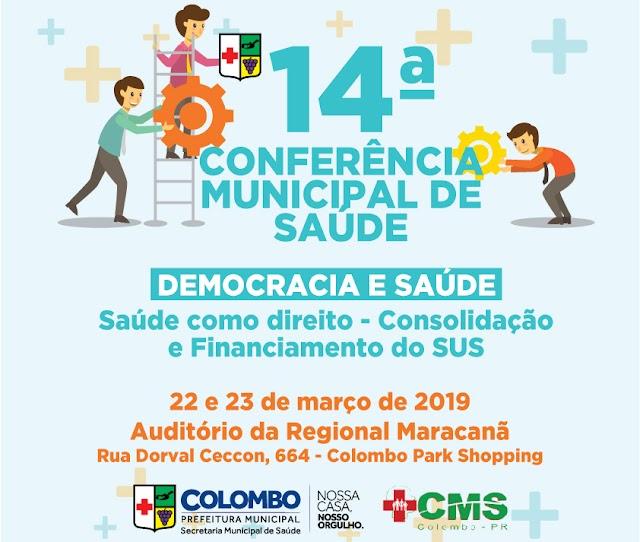 14ª Conferência Municipal de Saúde acontece nestes dias 22 e 23