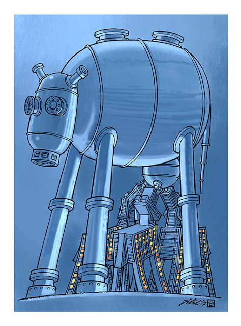 Kartun karya Jitet Koestana ini mendapatkan penghargaan special price dalam The First International Cartoon Festival on Safe & Optimal Consumption of  Natural Gas.