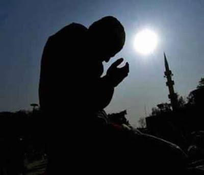menangis ketika berdoa