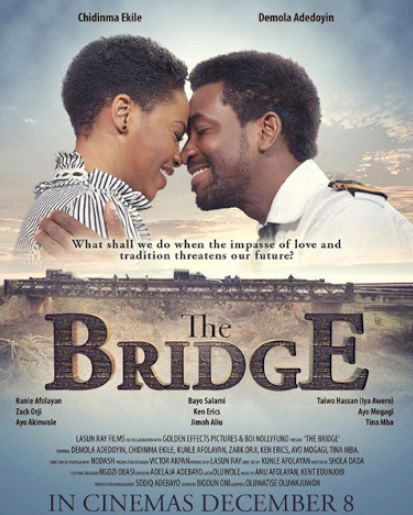 "Singer Chidinma stars in Nollywood movie ""The Bridge"" with Ademola Adedoyin"