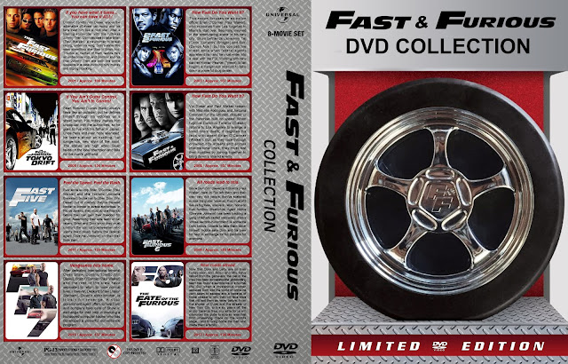 Fast & Furious DVD Collection DVD Cover