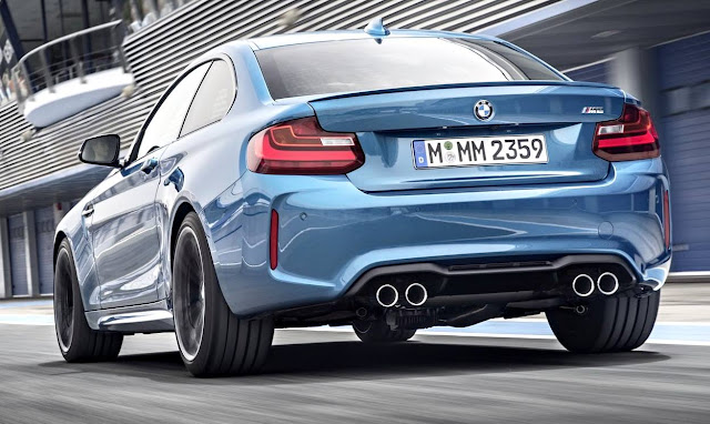 BMW M2 Coupé 2017 back