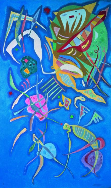Vasilij Vasiljevič Kandinski - Page 3 Wassily+Kandinsky+-+Tutt%2527Art%2540+%252878%2529