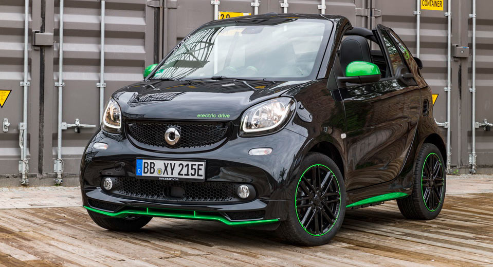 2017 Smart Fortwo Electric Drive Priced 1200 Cheaper Than