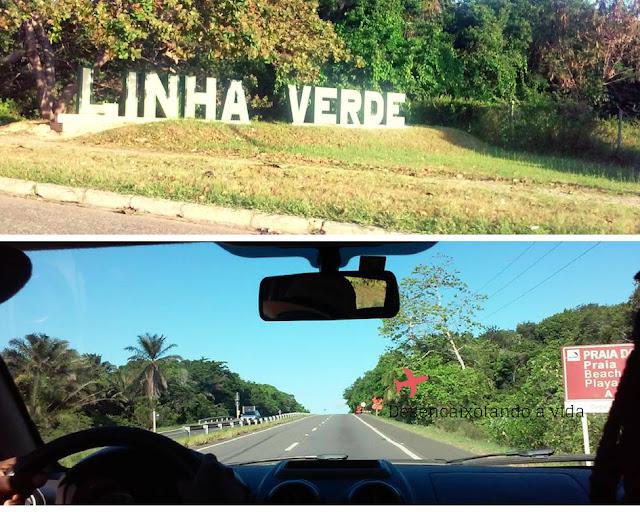 Estrada do Coco( Ba-099), linha verde Bahia_ praia do forte