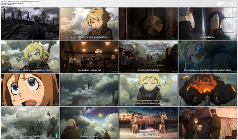 Capturas de Youjo Senki