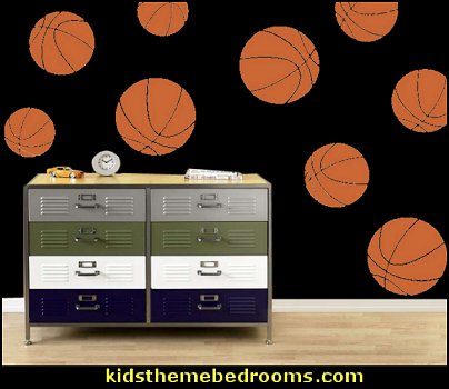 basketball bedroom ideas - Basketball Decor - basketball wall murals - basketball bedding - basketball wall decal stickers - basketball themed bedrooms - basketball bedroom furniture - basketball wall decorations - Basketball wall art - Basketball themed rooms - basketball bedroom furniture - NBA bedding - Boys basketball theme