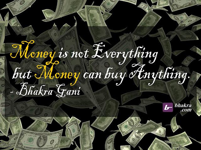 Money…