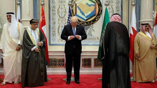Trump conmina a los países árabes a crear alianzas contra Irán