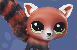 LPS Red Panda Figures