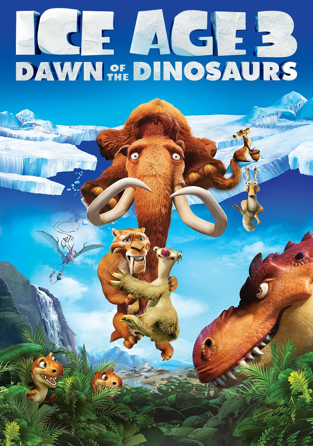 Ice Age: Dawn of the Dinosaurs 2009 Dual Audio Hindi English 720p BluRay Full Movie Free Download