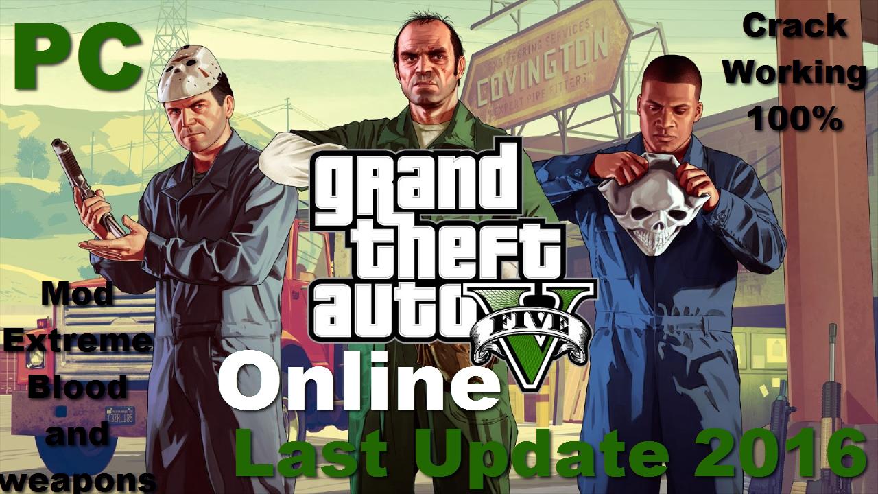 gta 5 crack online mod