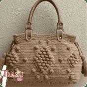 Cartera a Crochet o Ganchillo
