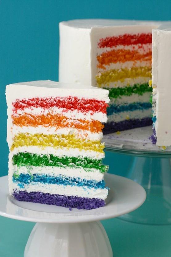 Resep Rainbow Cake Martha Stewart Asli