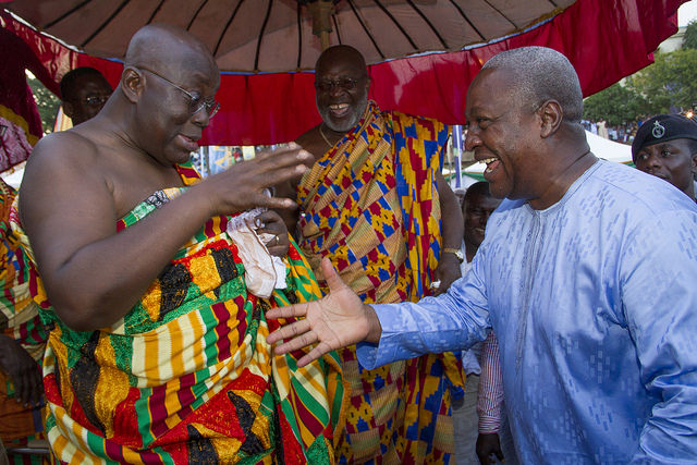 'Raising revenue is no sin' – Mahama to Bawumia