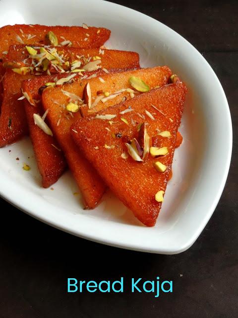 Bread Kaja, Fried Sugar Bread slices